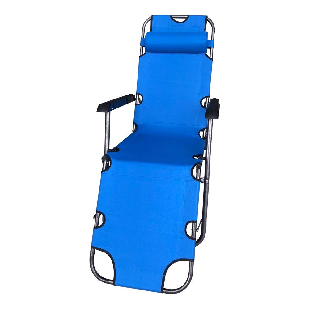 FCBC3BL Foldable Zero Gravity Camping and Lounge Chair Blue