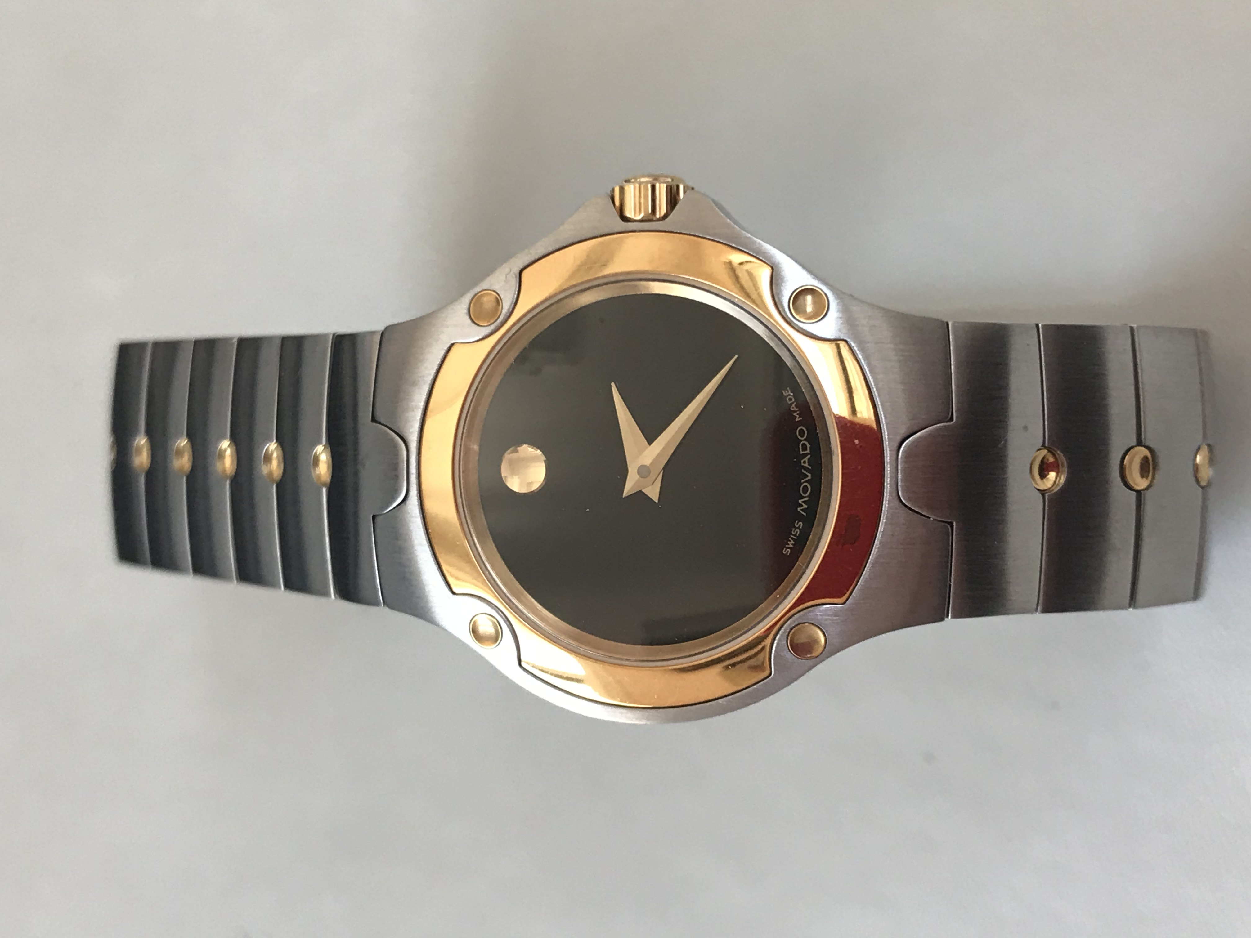 Lady's Movado Two Tone Watch