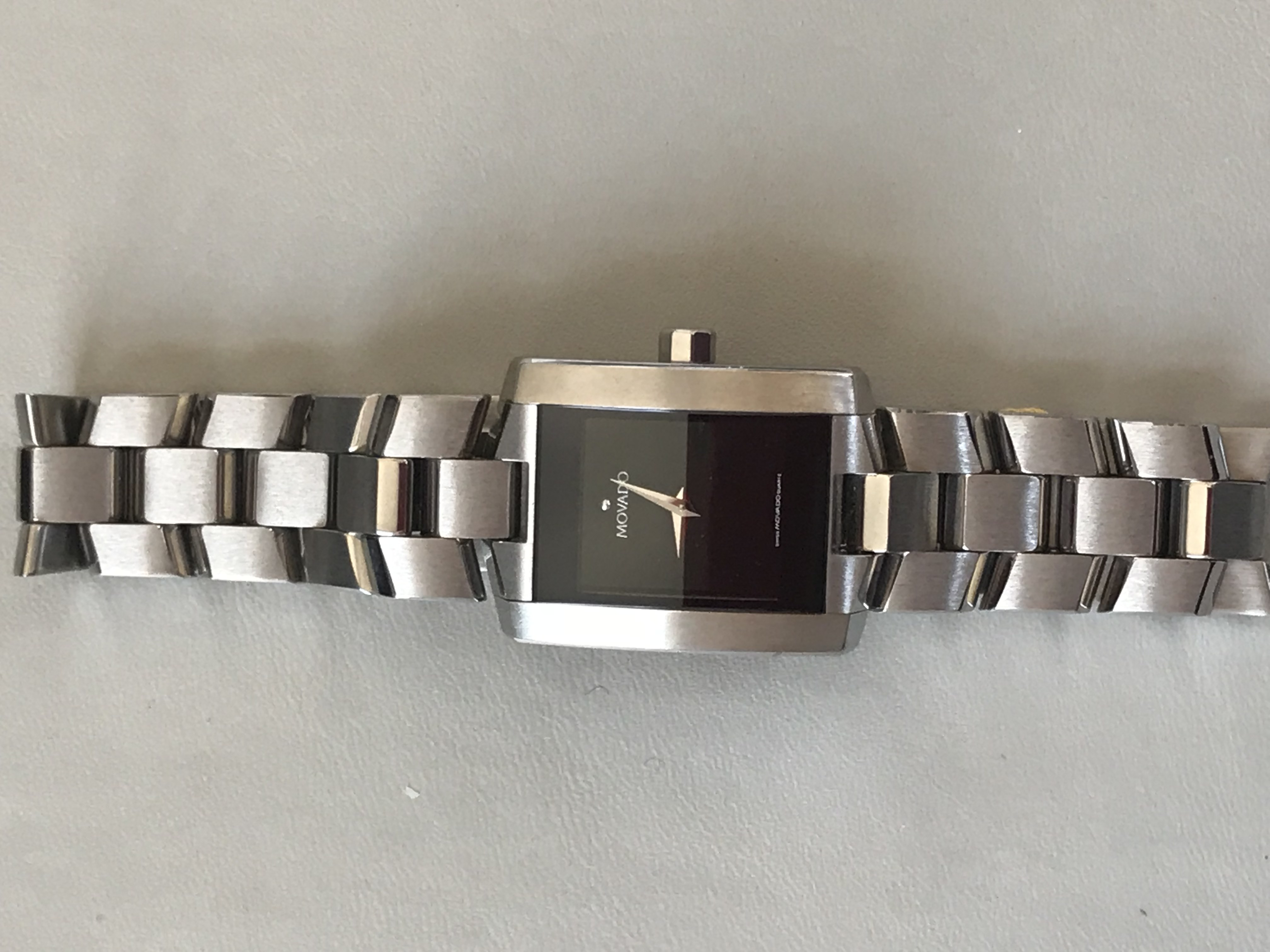 Lady's square Movado Bracelet Watch