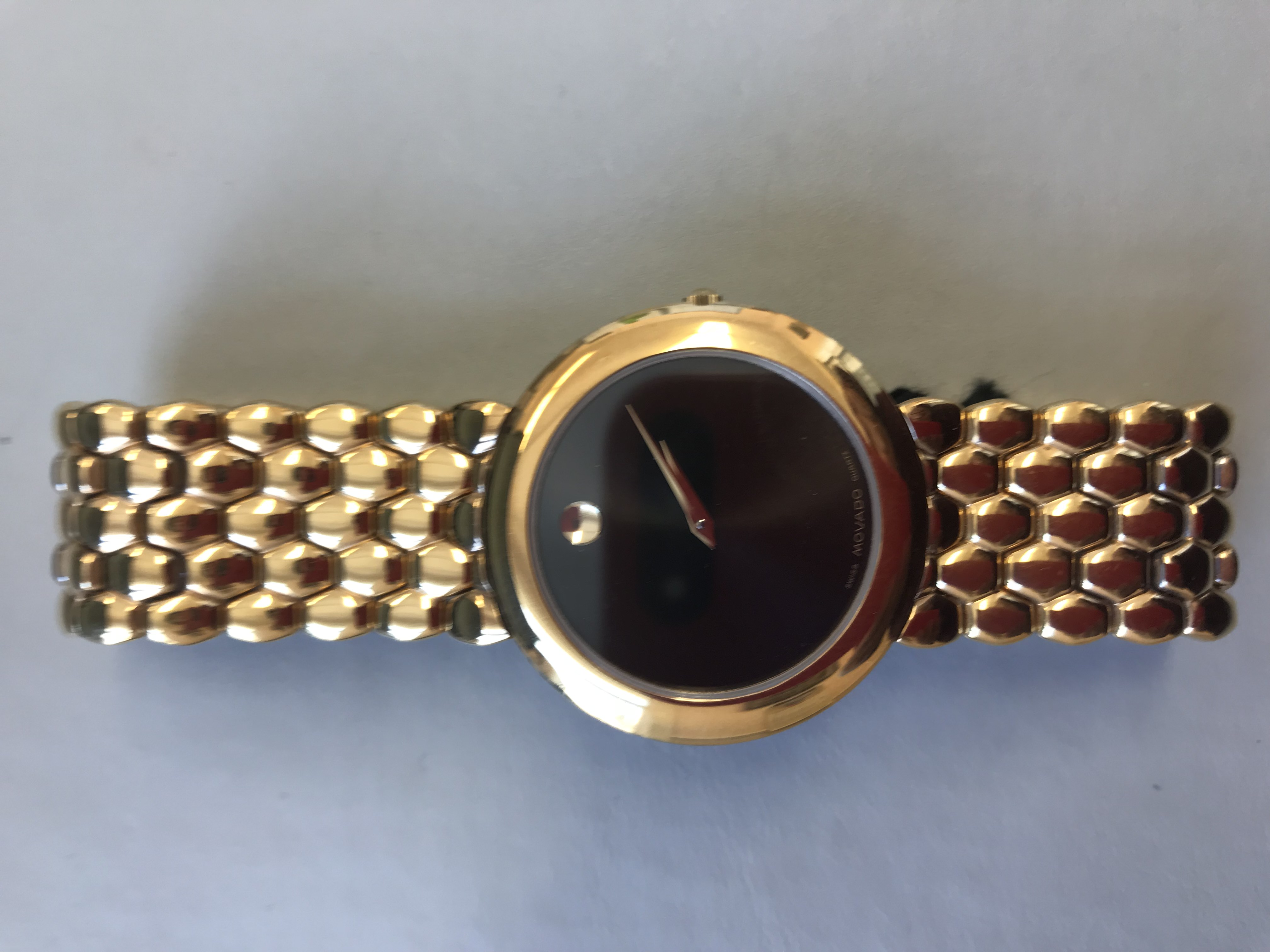 Men's Movado Watch with Bracelet