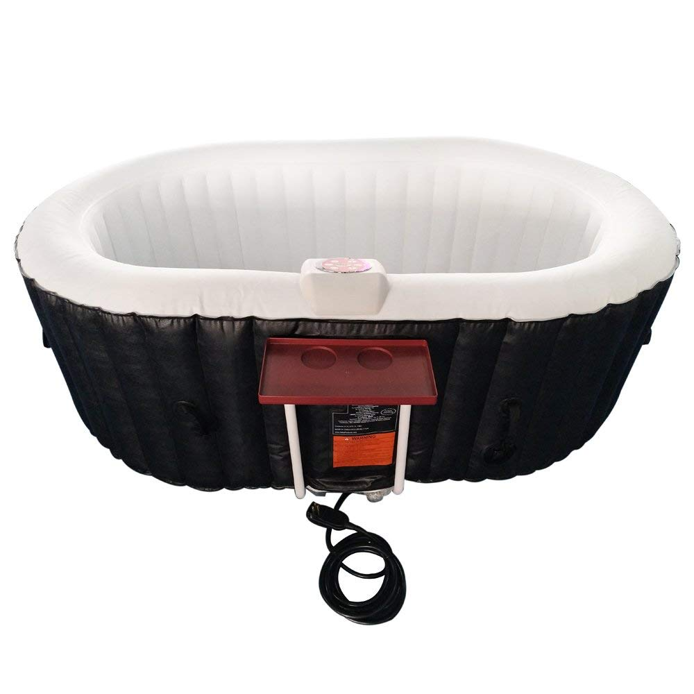 HTIO2BKW Oval Hot Tub- 145 gallon