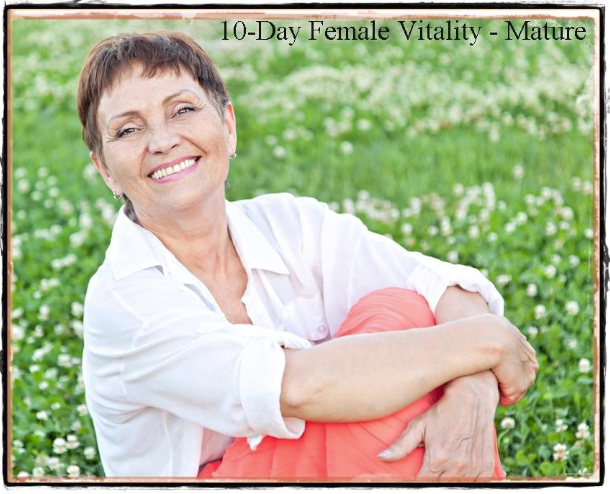10-Day Female Vitality Program - Mature (Post-Menopause)