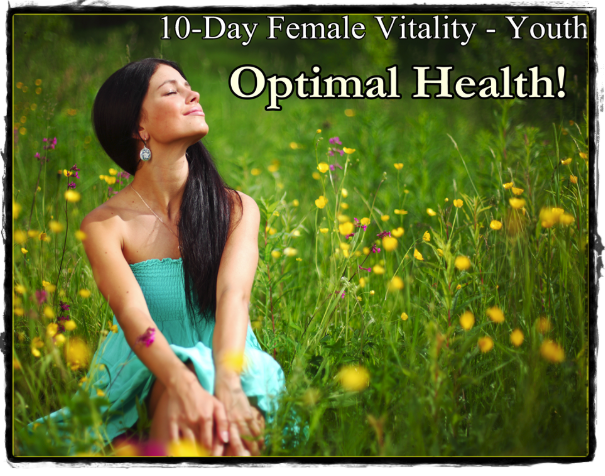 10-Day Female Vitality Program - Youth/Premenopausal