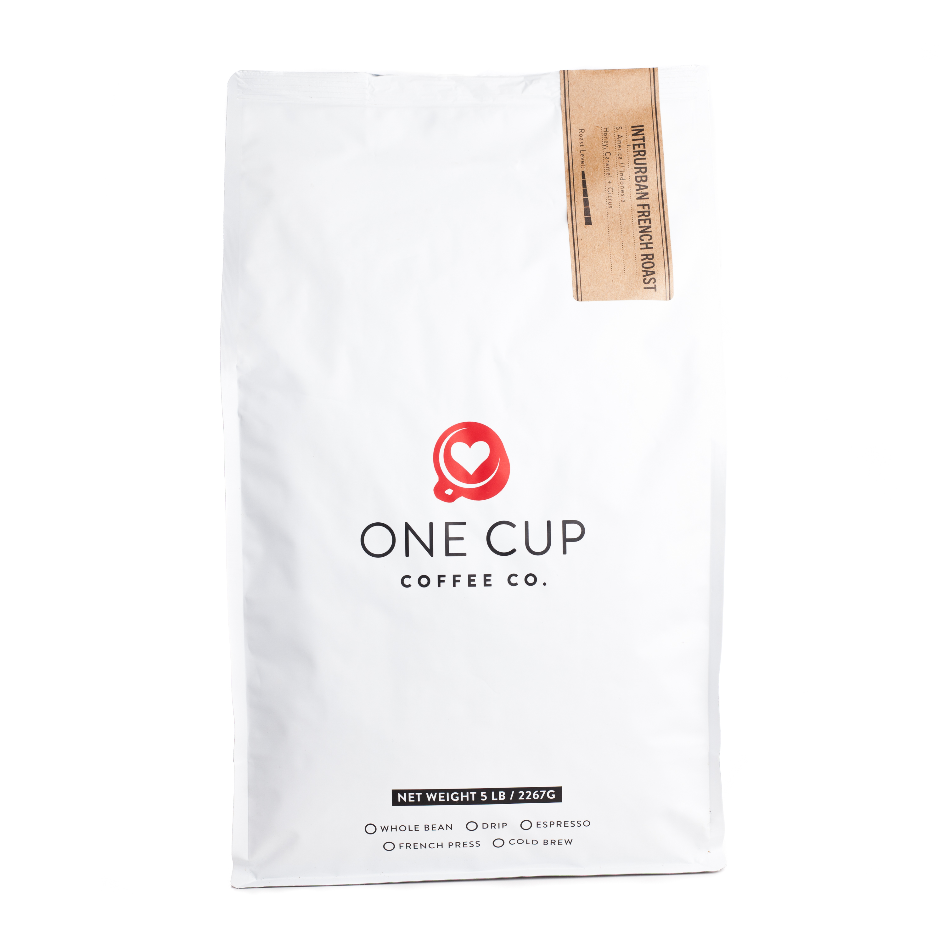 ONE CUP 5lb Interurban French Roast
