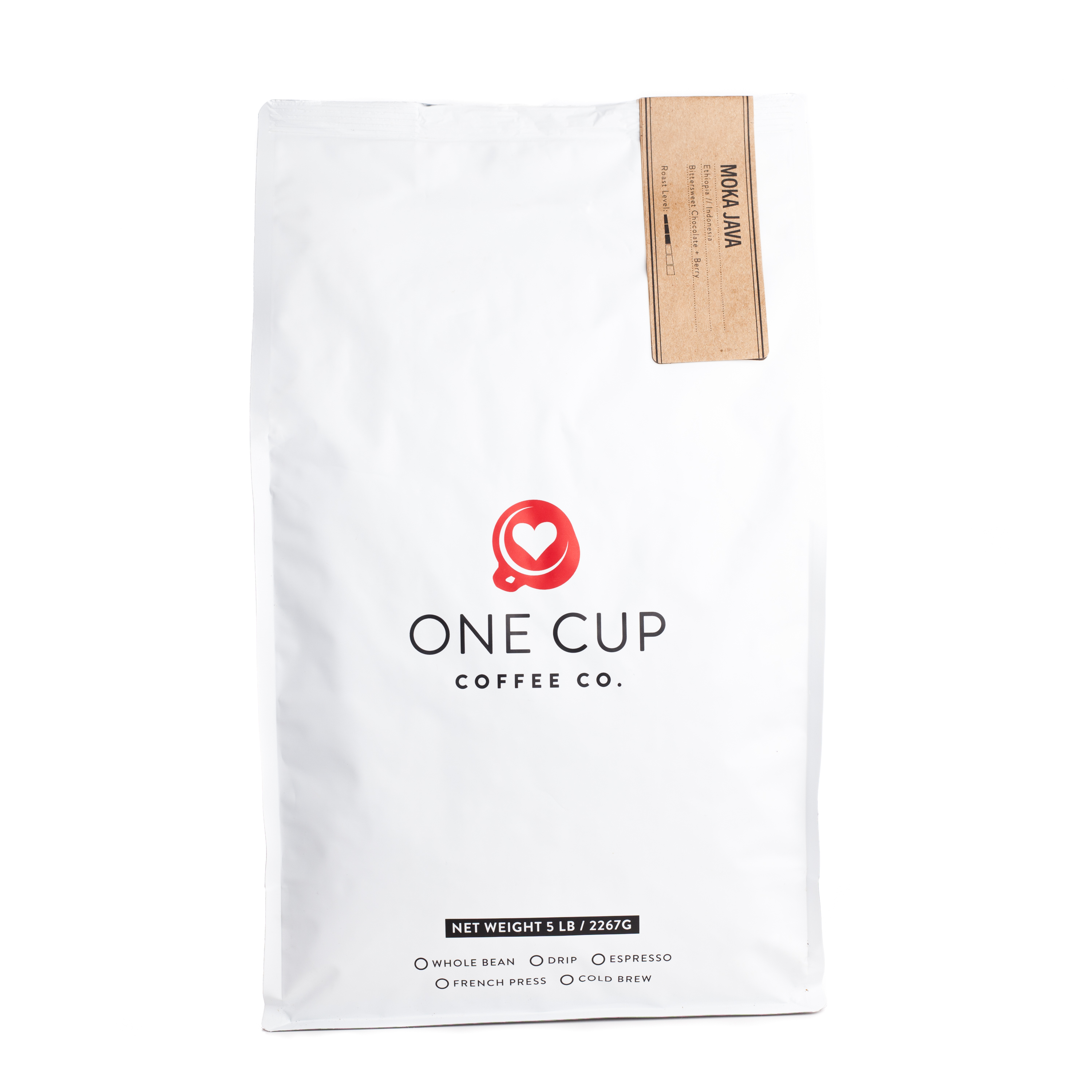 ONE CUP 5lb Moka Java