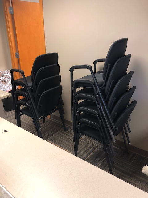 Set of Nine Professional Chairs