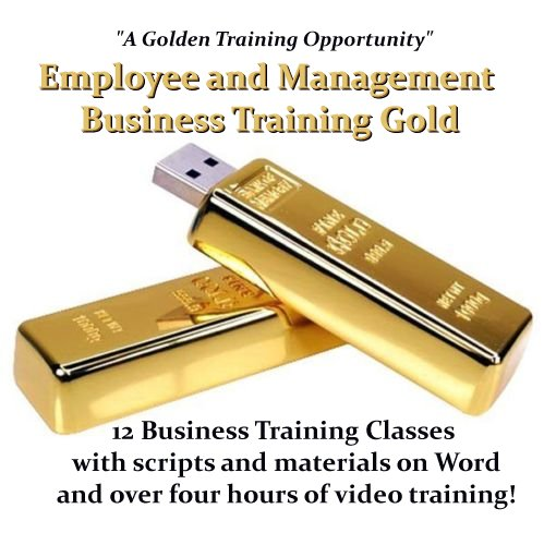 Employee and Management Training Gold  - Twelve Training Program Package