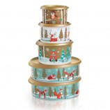 Snowfall Sweeties Canister Set