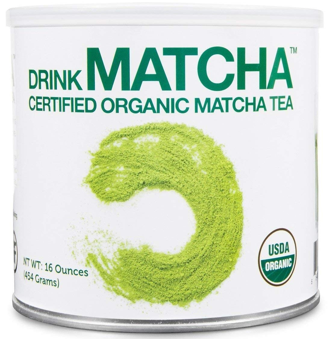 Drink Matcha -16 oz Matcha Green Tea Powder - USDA Organic - 100% Pure Organic M
