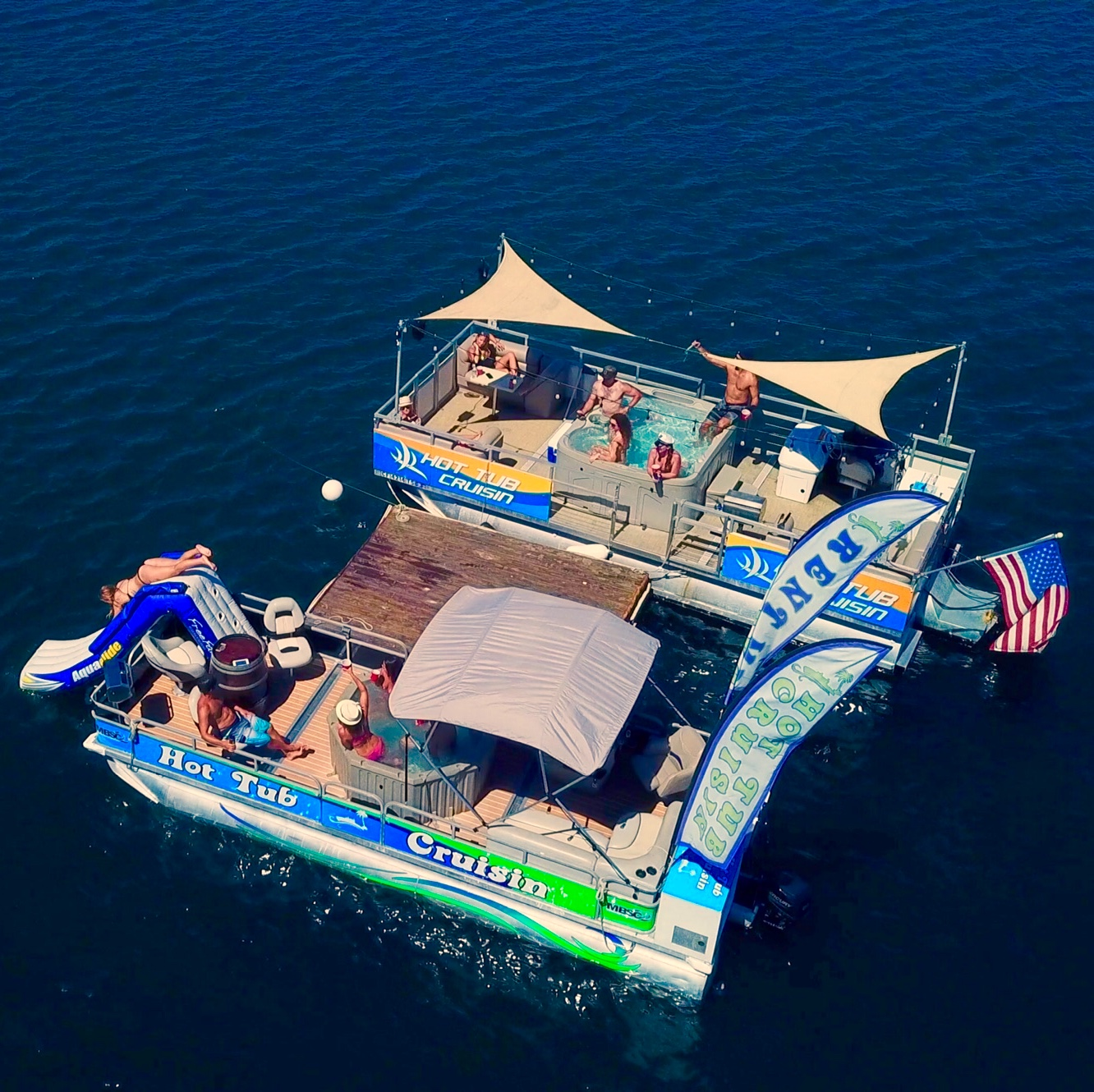 Anchored Hot Tub Cruises