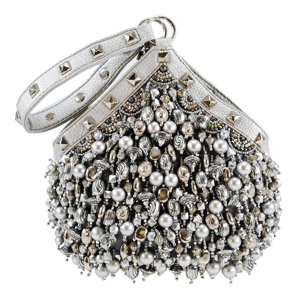 Mary Frances 'Platinum Persuasion' Handbag