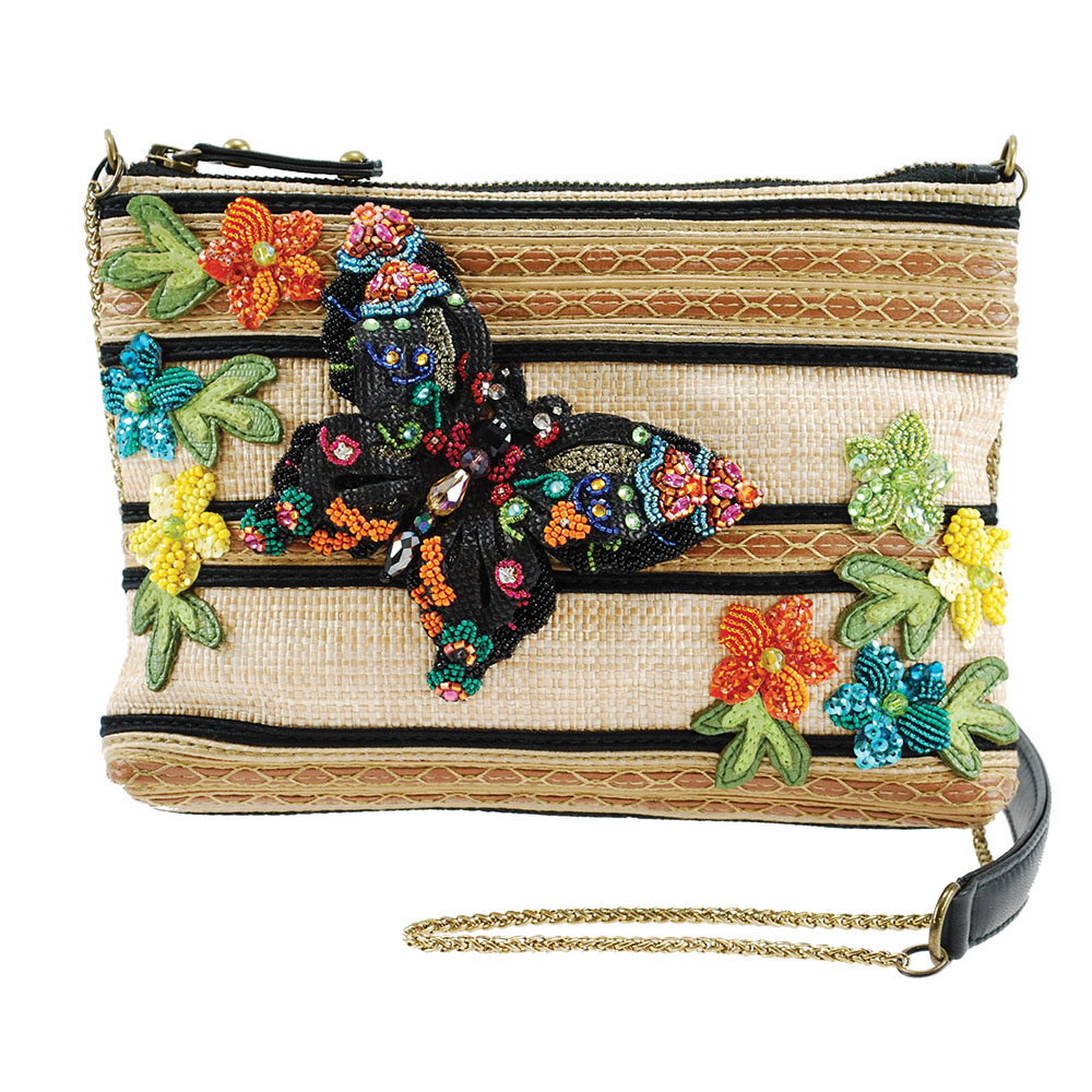 Mary Frances 'Butterfly Fantasy' Mini Handbag