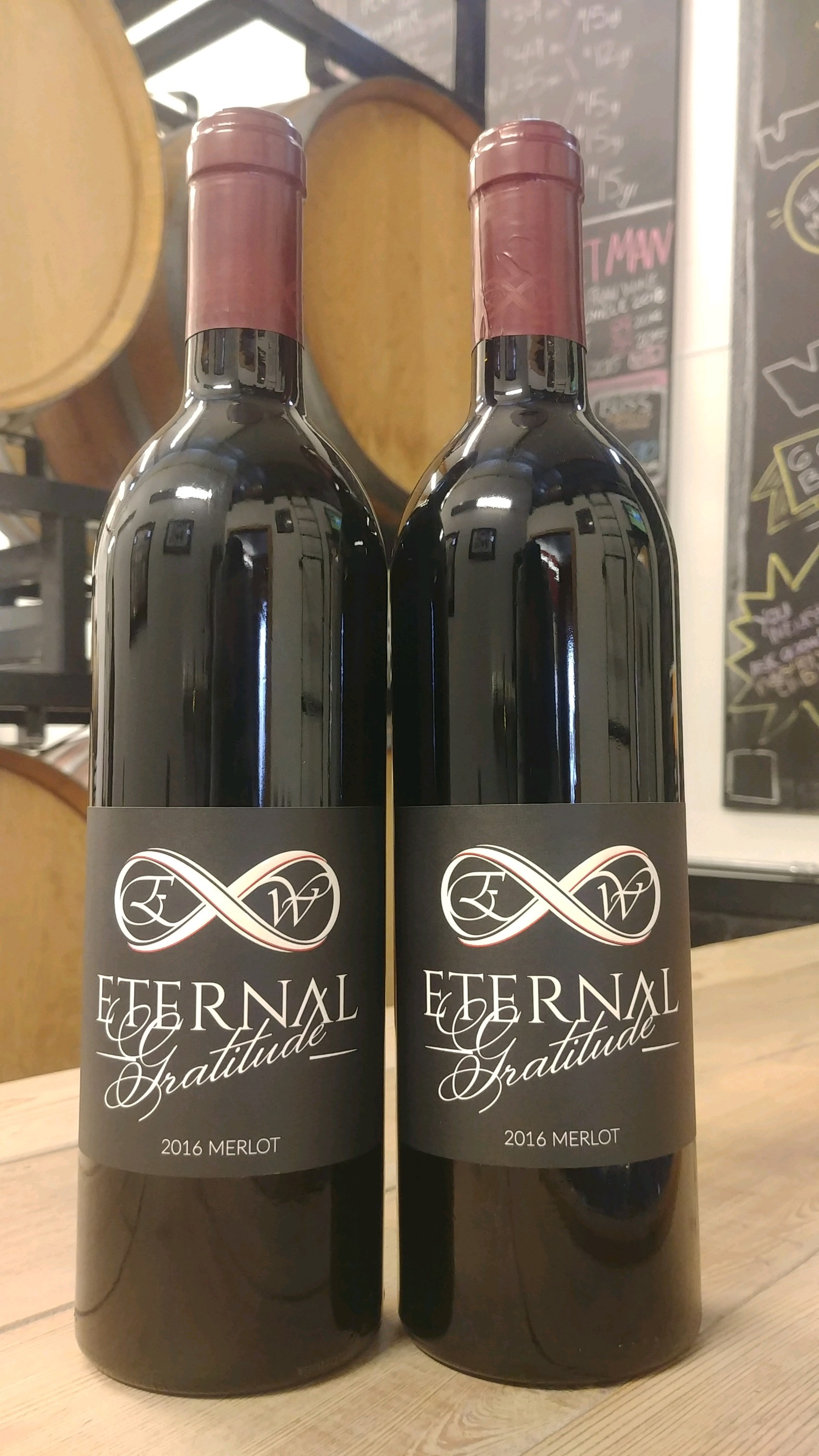 12 - 2017 Eternal Gratitude Merlot (Case)
