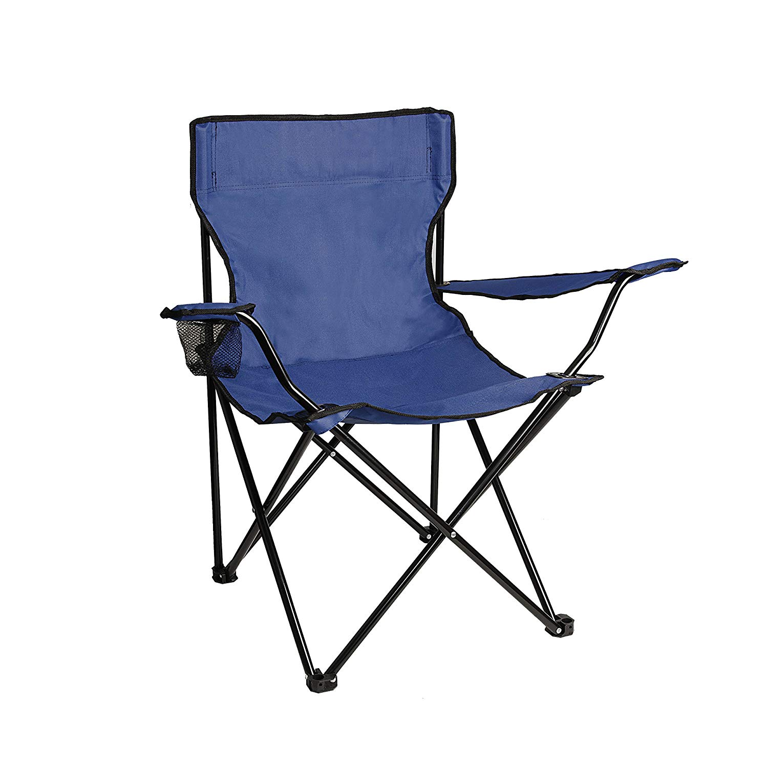 BC01 Foldable Camping, Hiking Beach Chair, Outdoor Picnic Lounge, Patio Lawn Gar