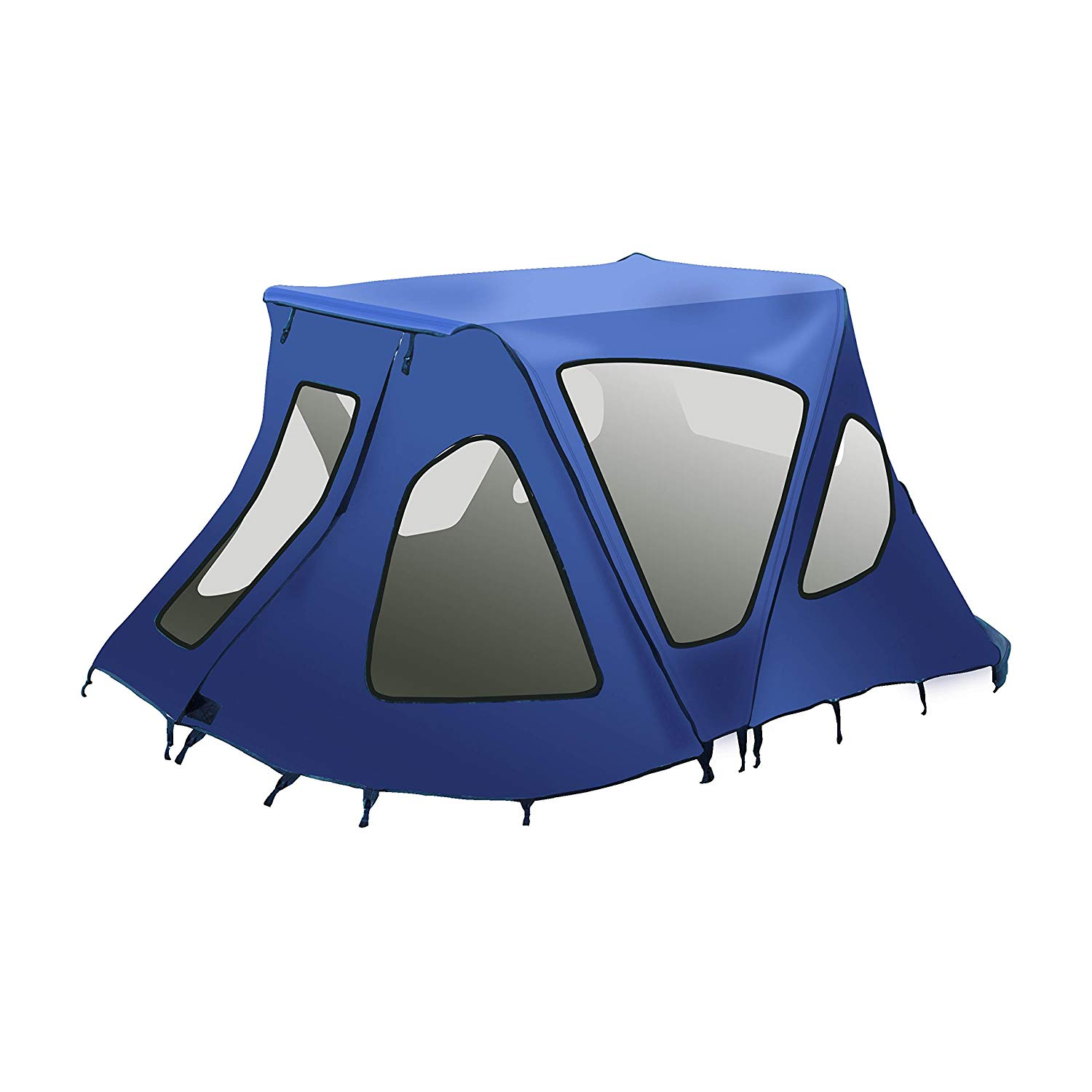 BWTENT380B Winter Canopy Boat Tent Sun Shelter Sunshade for Inflatable Boats 6 x
