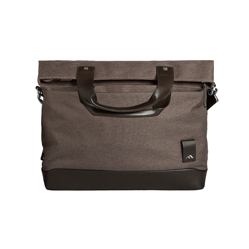2333 Medina Fold-over Messenger Bag – Chestnut