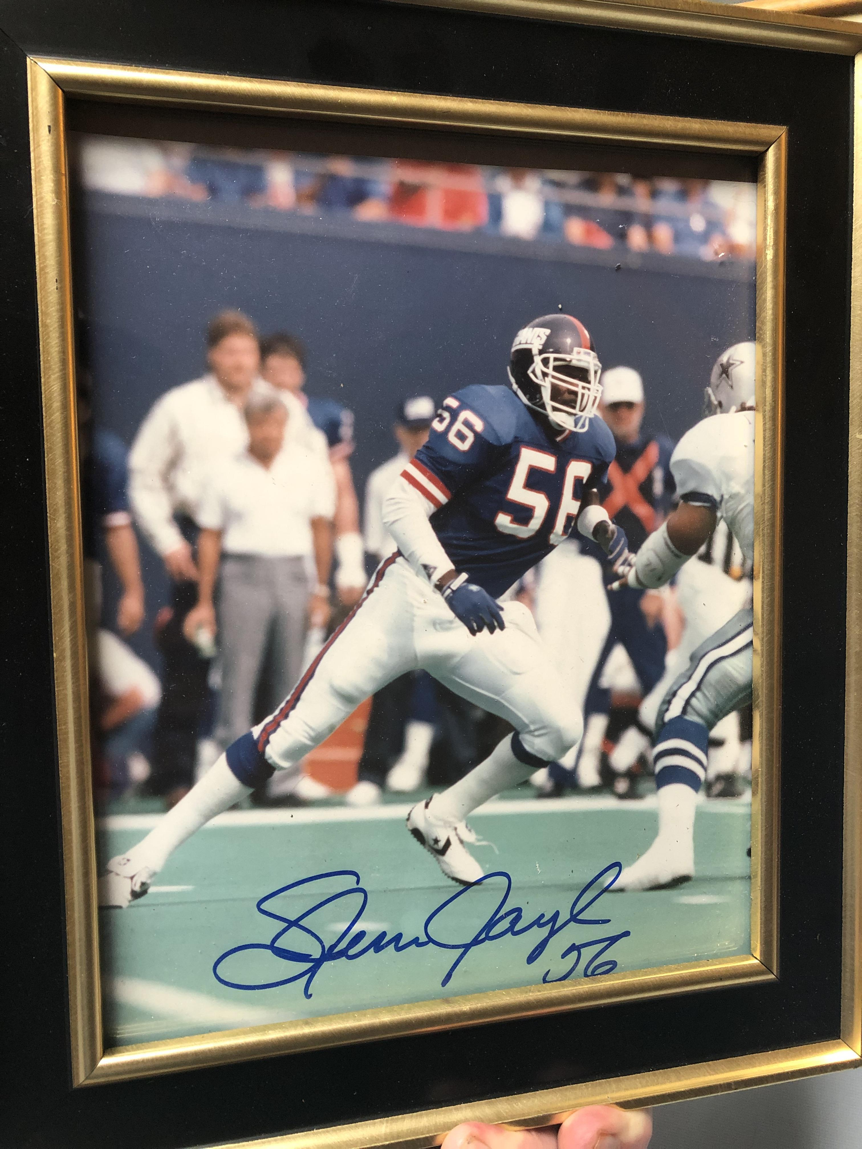 Autographed Hall of Famer Lawrence Taylor!