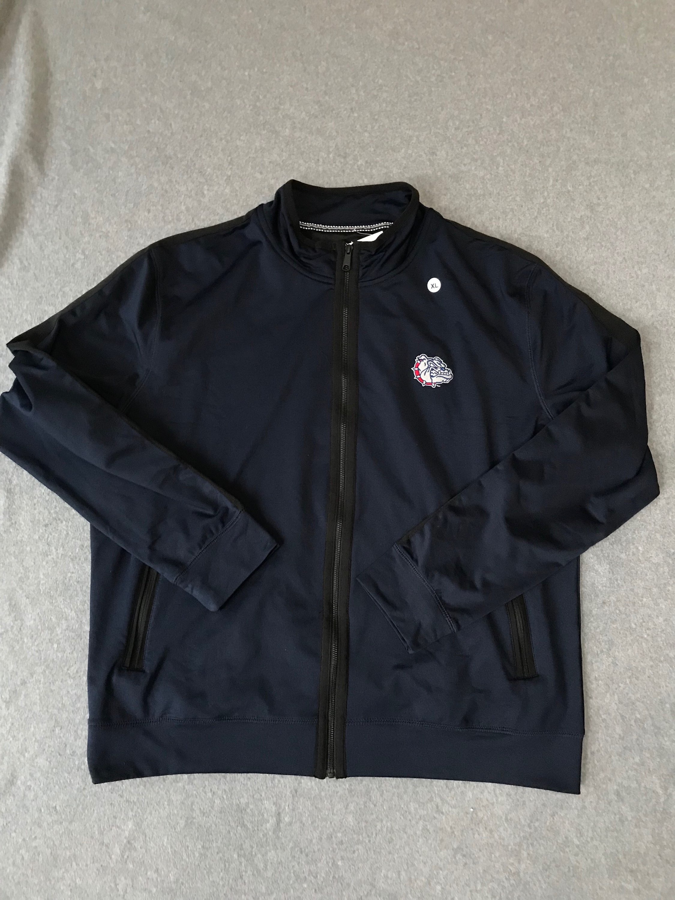 Gonzaga NWT Full Zip Embroidered Size XL