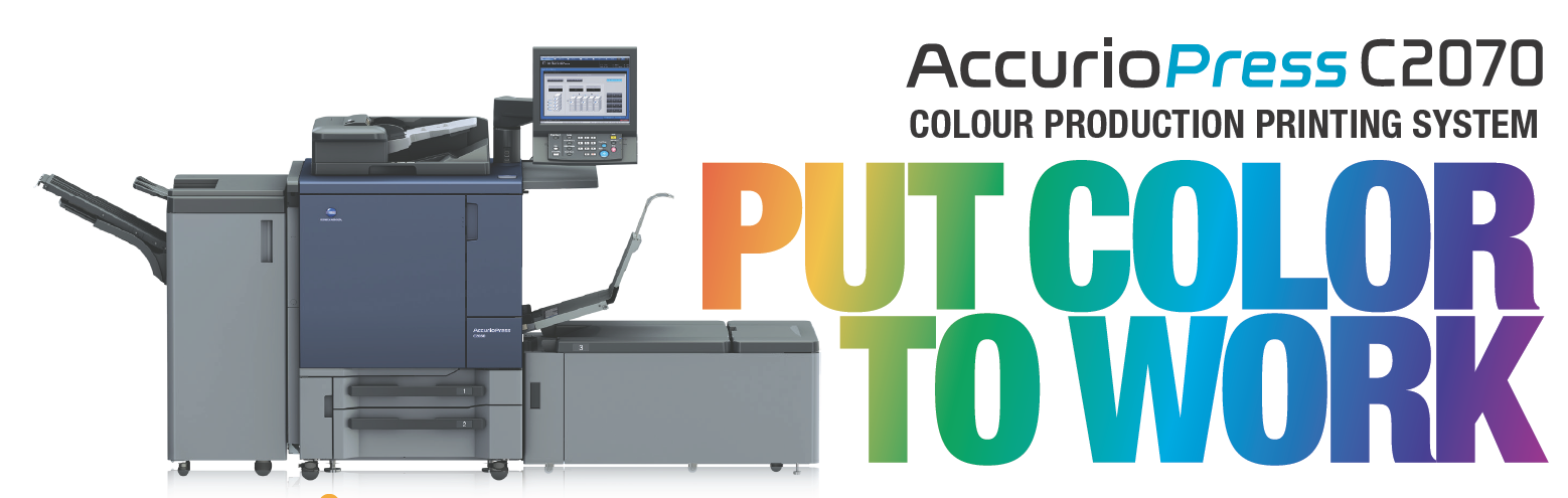 Konica Minolta Accurio Press C2070 Color Production System