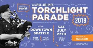 Seafair Weekend Festival - Torchlight Parade Balloon Entry July 27