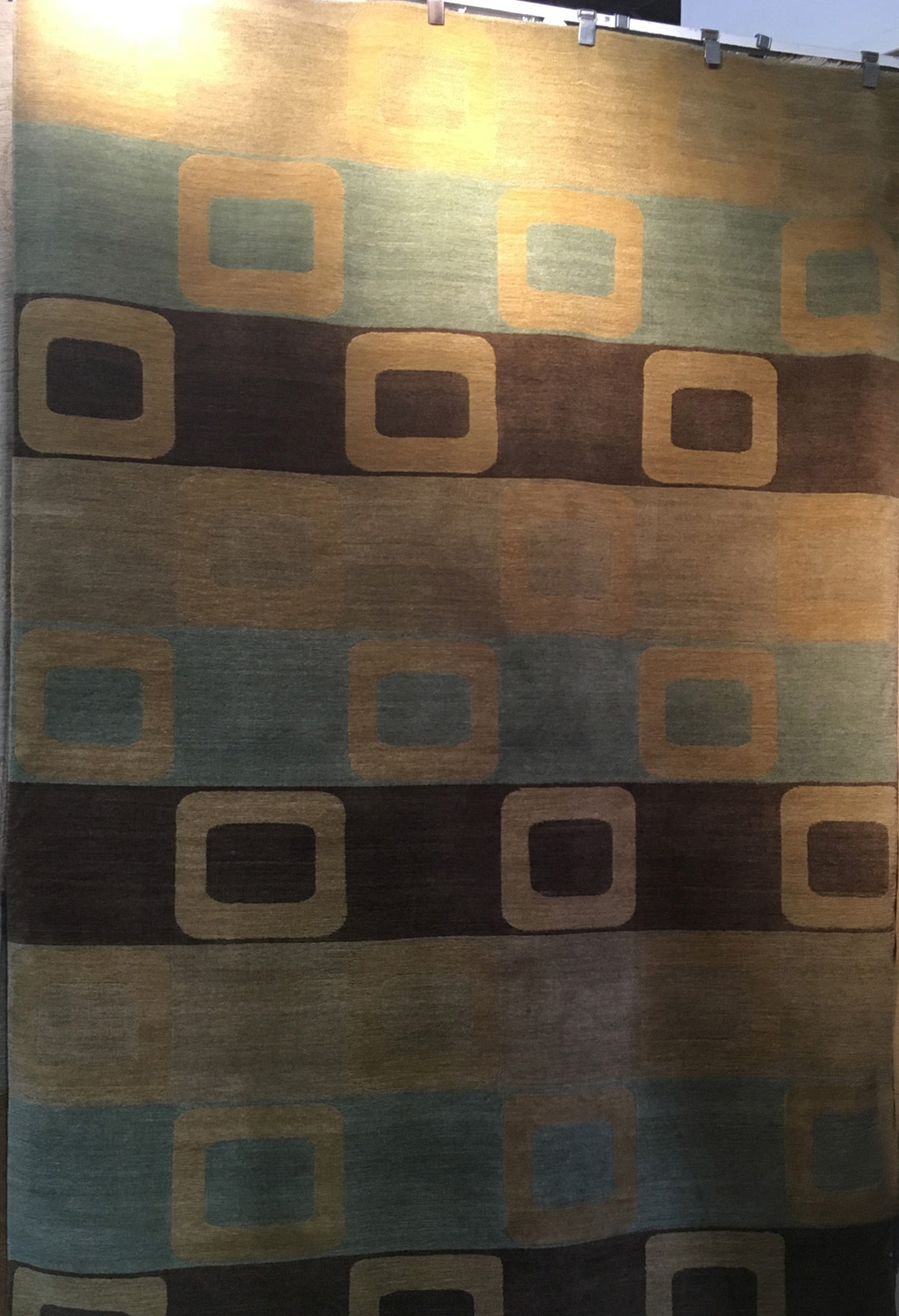 6'x9' Topkay Modern Hand-knotted Rug