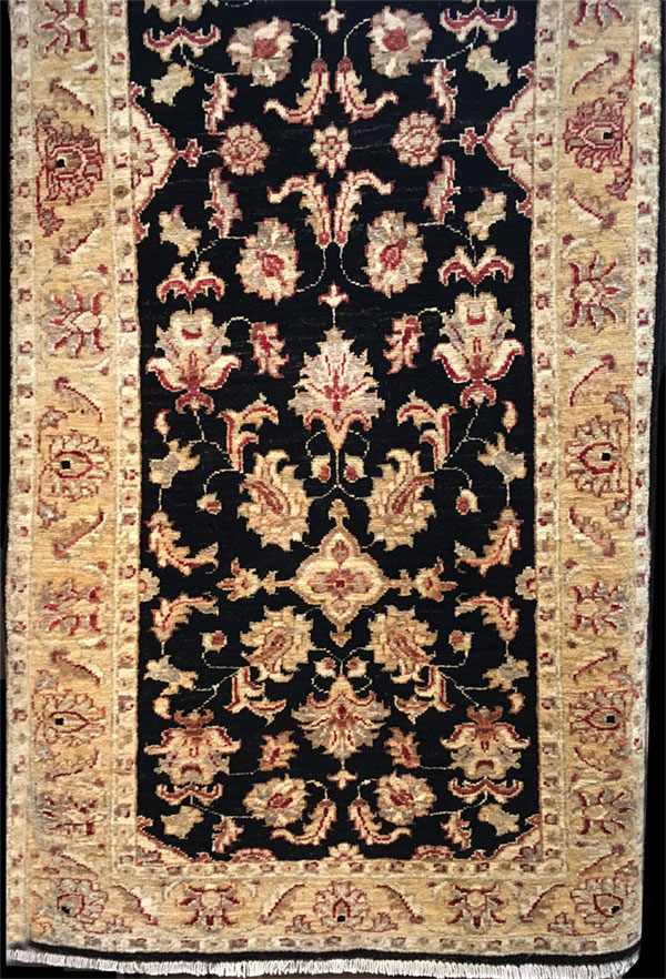 2-8'x6-9' Runner Hand-knotted