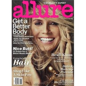 Allure Magazine Three Year Subscription