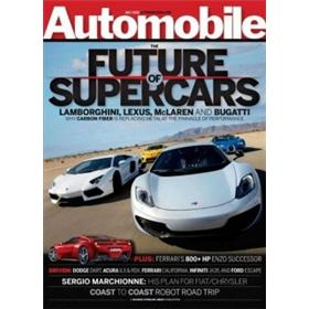 Automobile Magazine Four Year Subscription