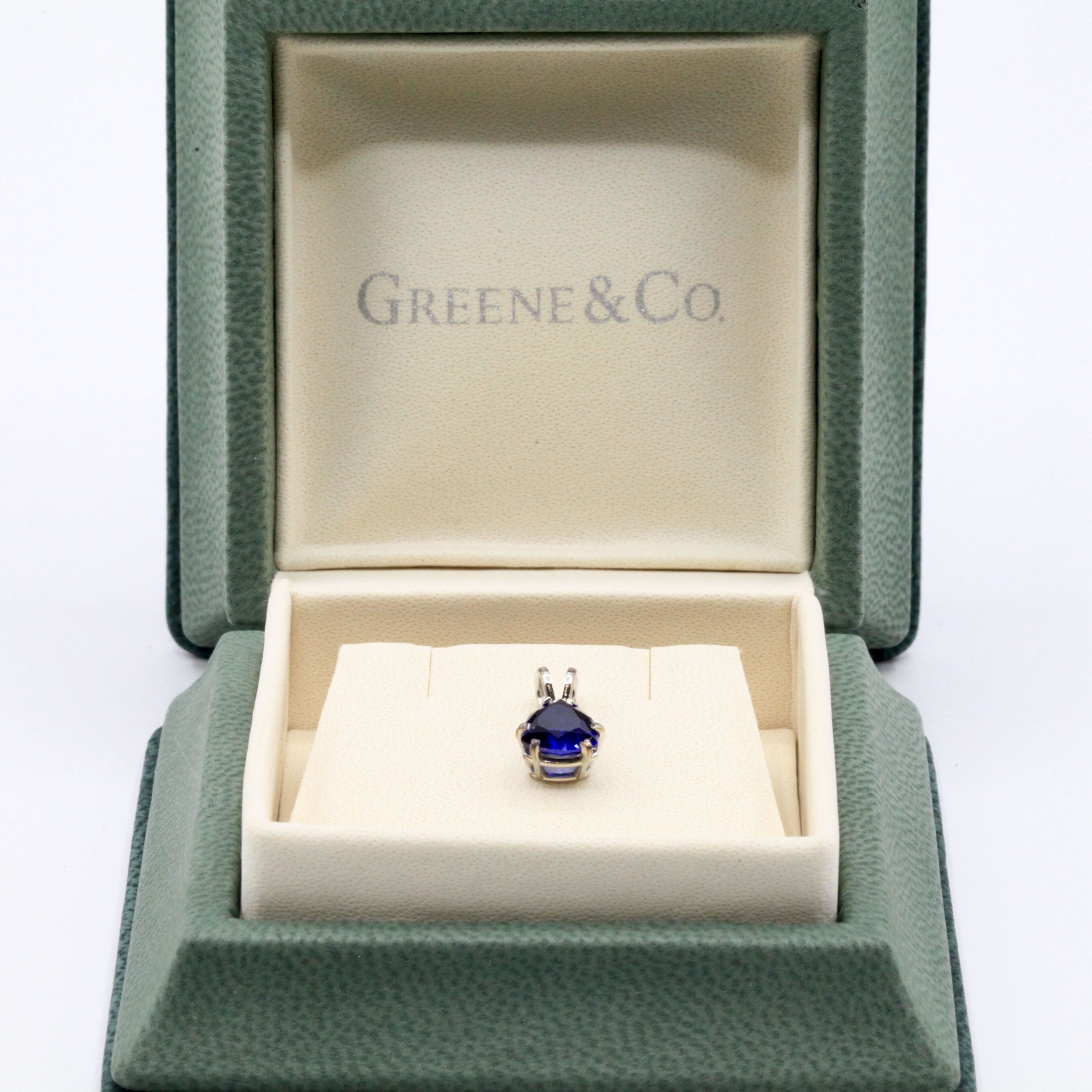 Sapphire Pendant (chain not included)