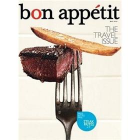 Bon Appetit Magazine Three Year Subscription
