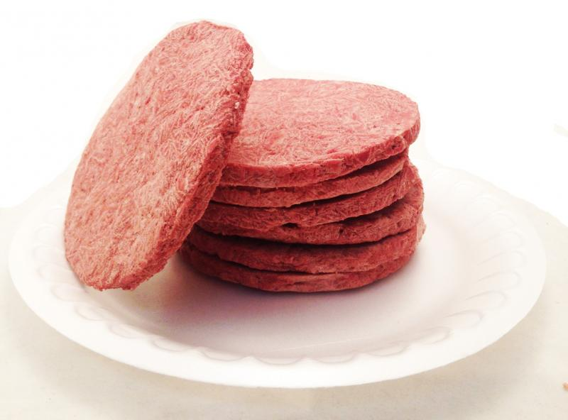 Freeze-Dried Hamburger Patties