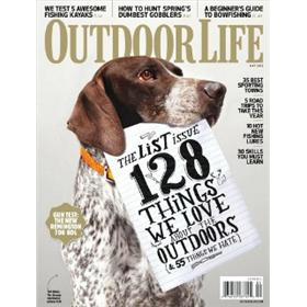 Outdoor Life Magazine Three Year Subscription