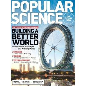 Popular Science Magazine Three Year Subscription
