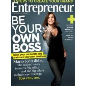 Entrepreneur Magazine Four Year Subscription