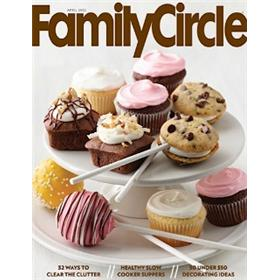 Family Circle Magazine Four Year Subscription