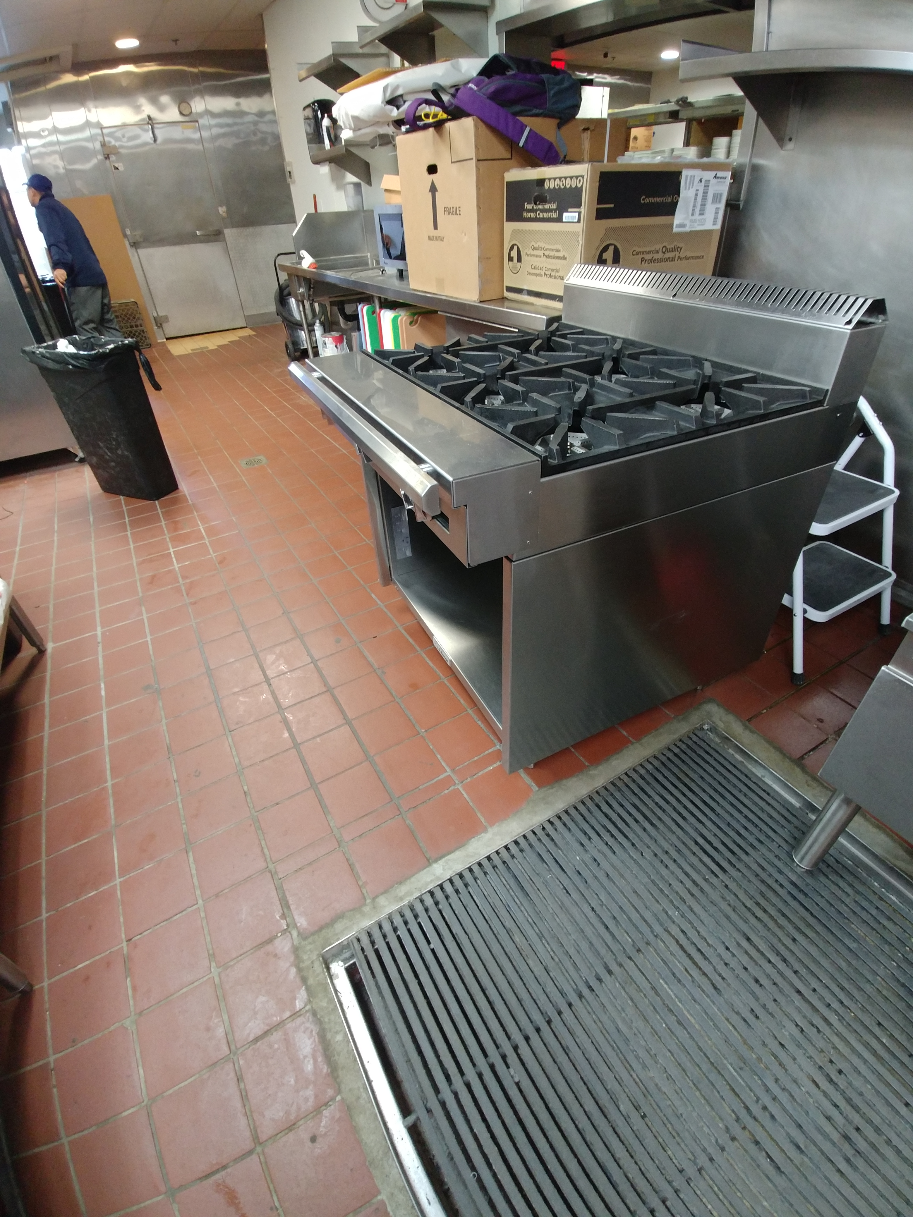 Garland Commercial Gas Range - C0836-6