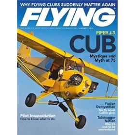 Flying Magazine Three Year Subscription