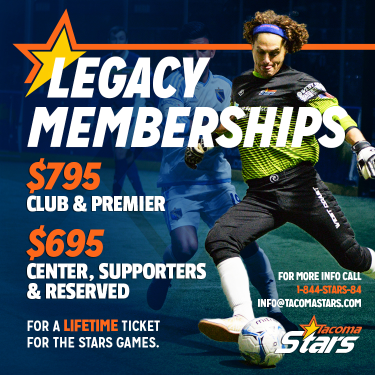 Tacoma Stars - Club and Premier Legacy Membership