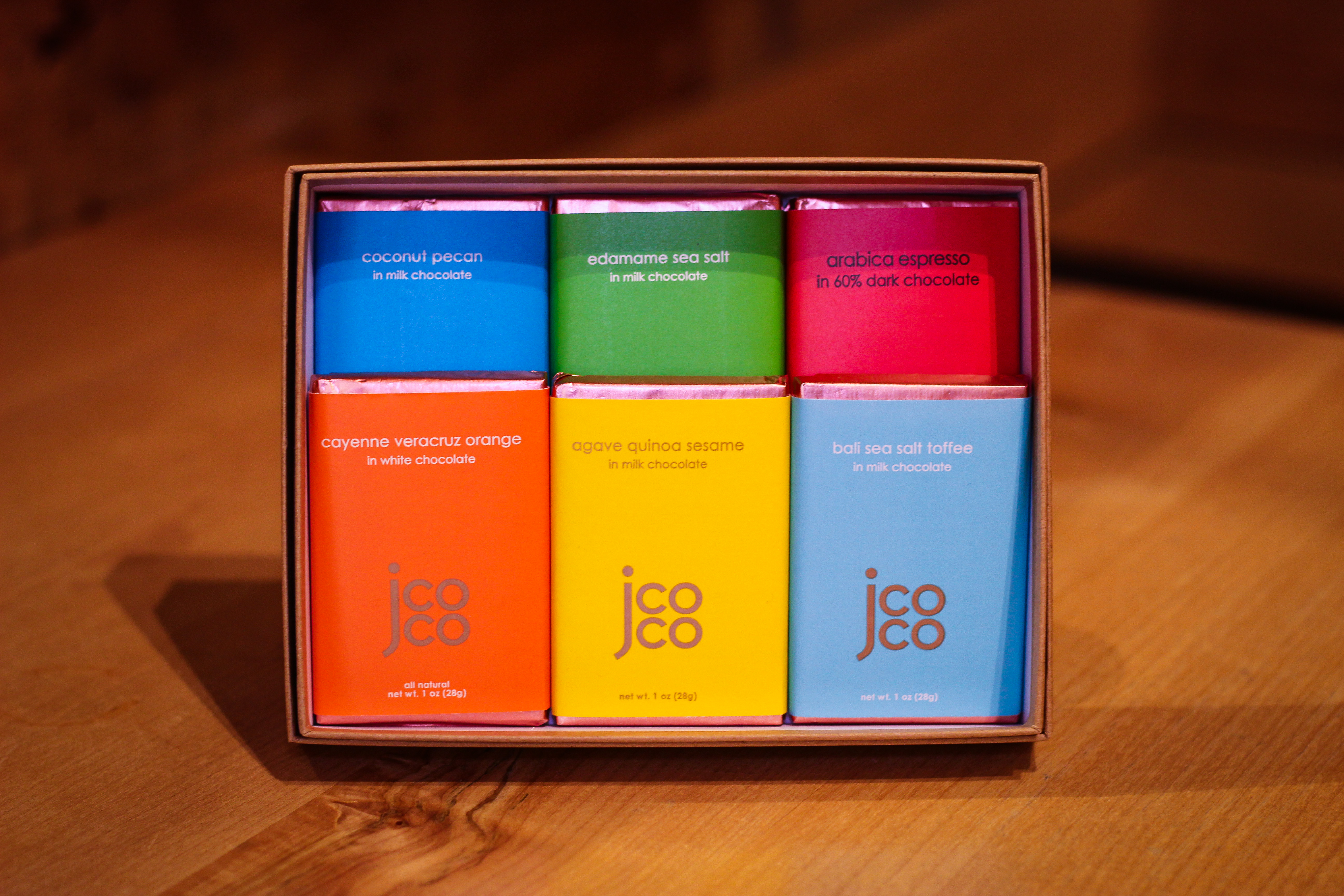 Gift Box With Assorted Jcoco Chocolate Bars
