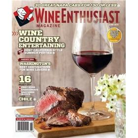 Wine Enthusiast Magazine 3 Year Subscription