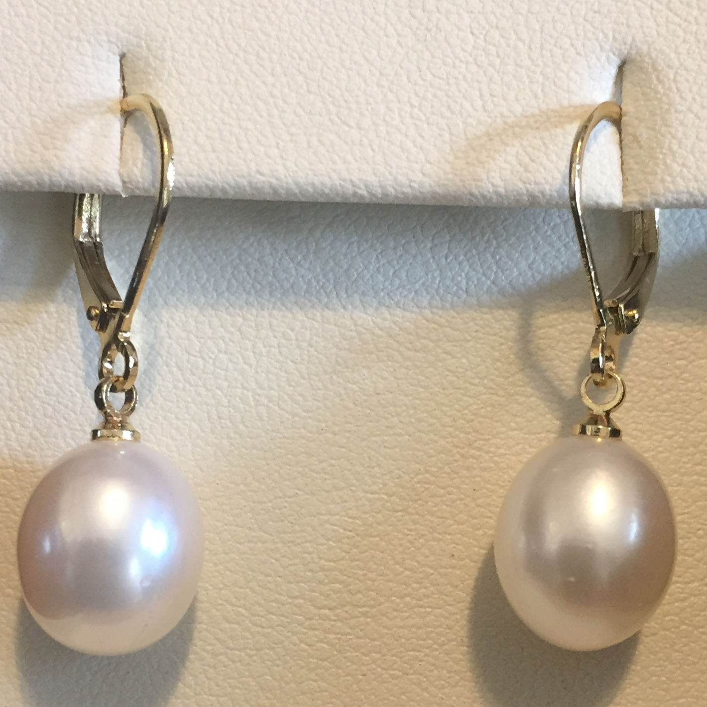 South Sea Pearl Dangle Earrings