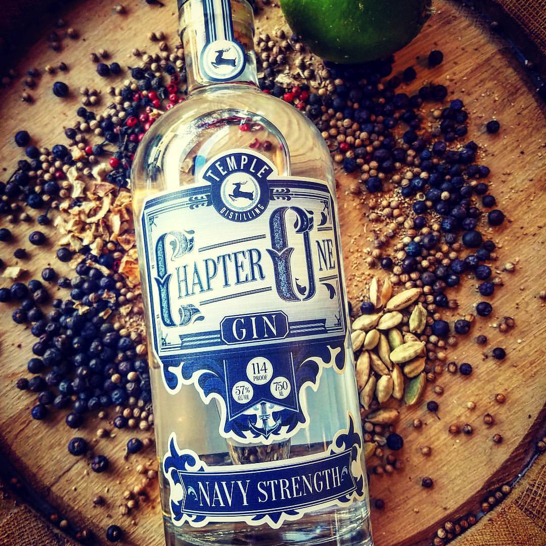 Chapter One Navy Strength Gin