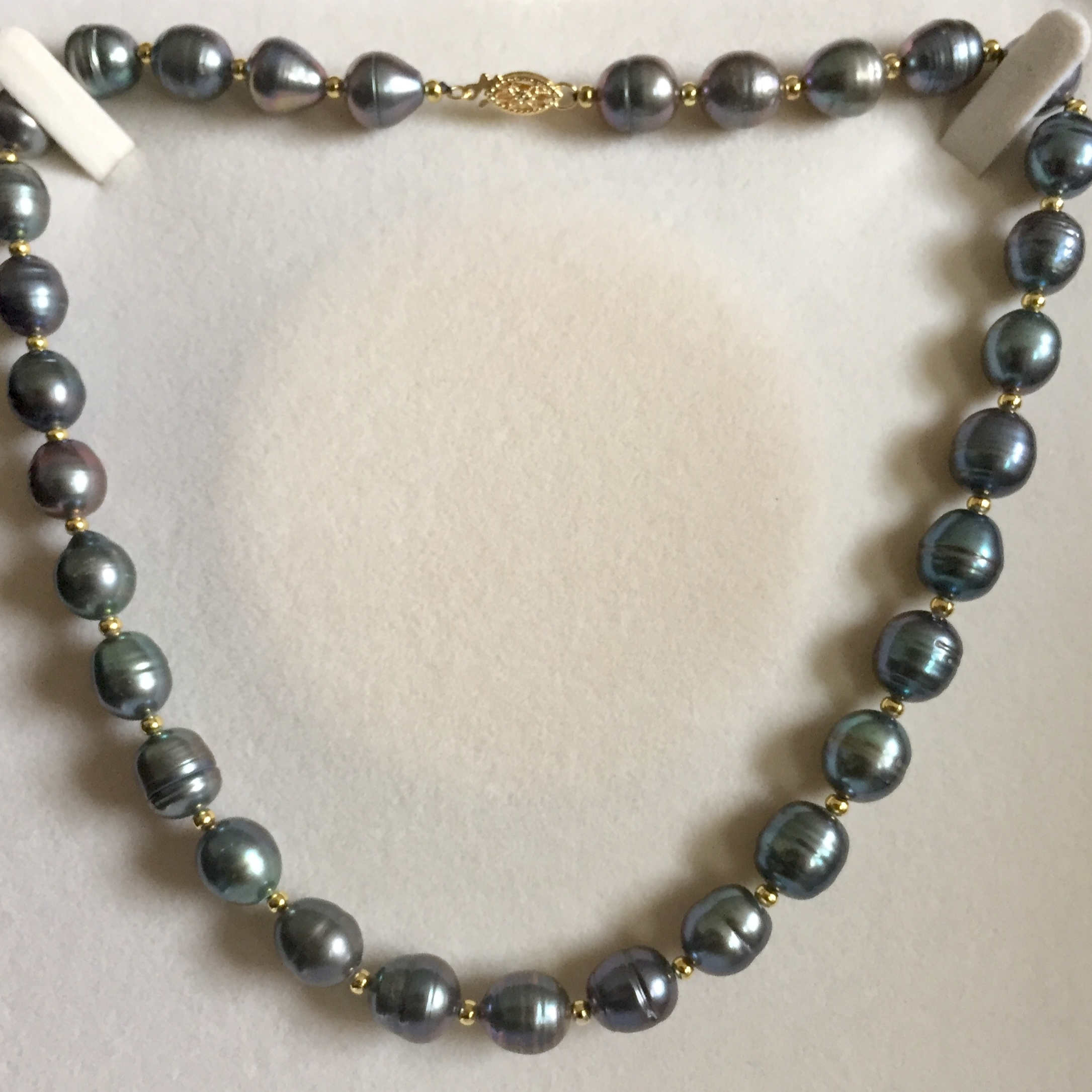 "18"" Tahitian South Sea Pearl Necklace"