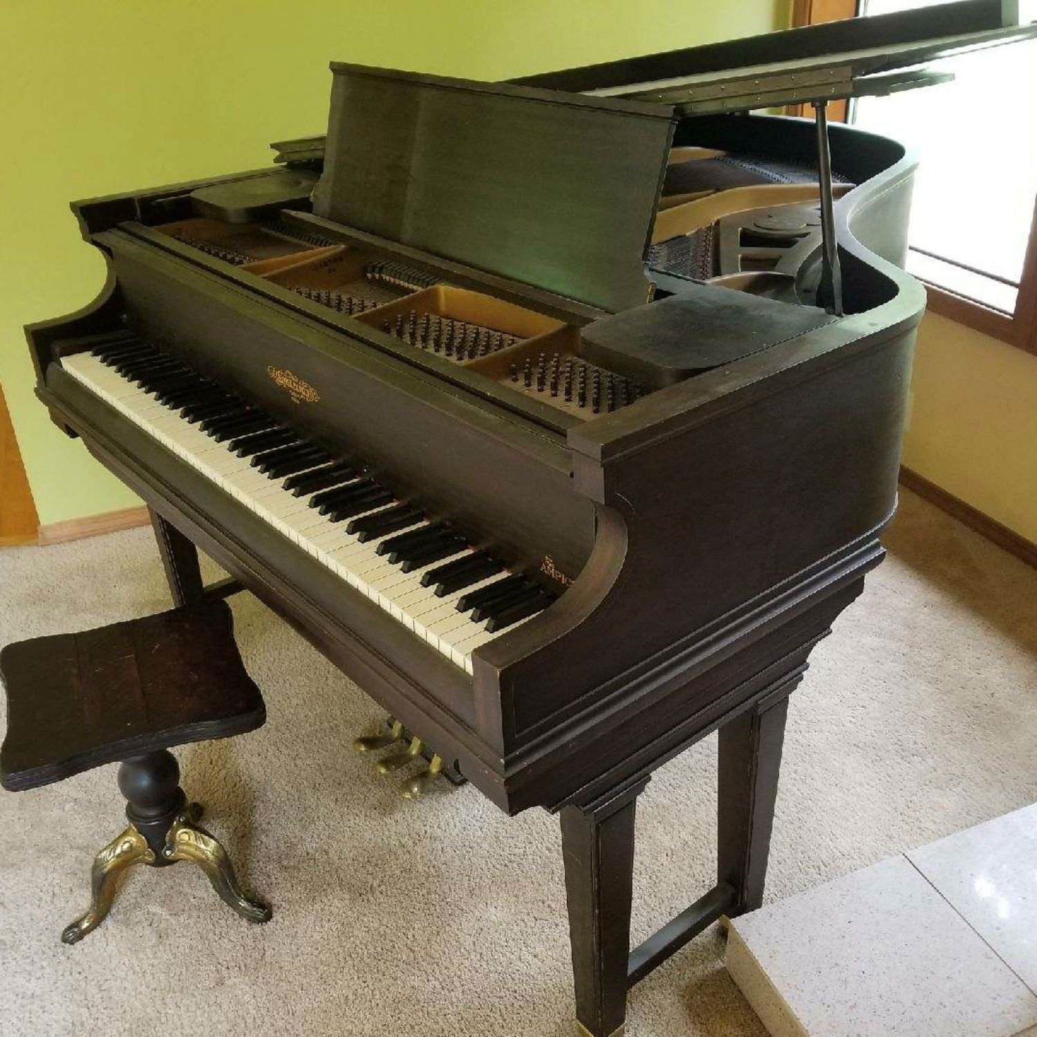 1927 Chickering Player Grand Piano