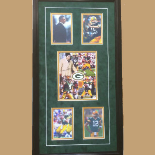 Green Bay Packers Legends  Commemorative w-Reproduced Signatures