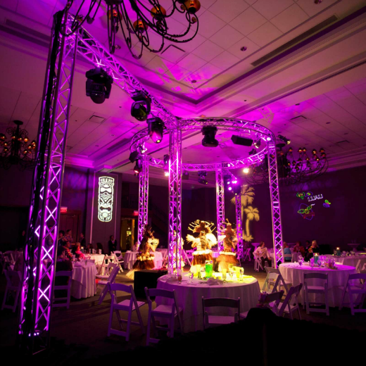 Event Lighting, Set Up & Break Down