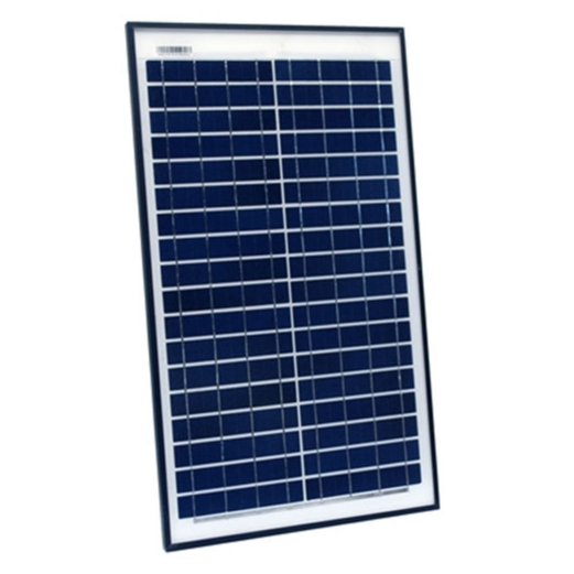 ALEKO® PP25W12V POLYCRYSTALLINE MODULES PORTABLE SOLAR PANEL 25W 12V