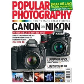 Popular Photography Magazine Three Year Subscription
