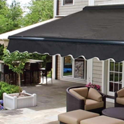 ALEKO® 10X8 FT HALF CASSETTE RETRACTABLE PATIO AWNING