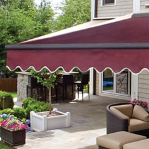 ALEKO® 12X10 FT HALF CASSETTE RETRACTABLE PATIO AWNING